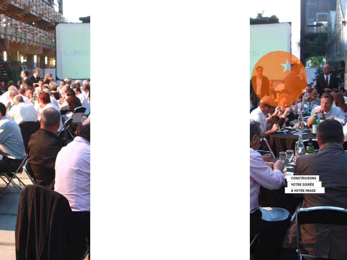 Une soirée d'entreprise à votre image