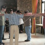 Teambuilding avec le jeu de la corde