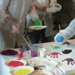 Peinture en équipe