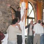Fabrication de la plus haute tour de papier